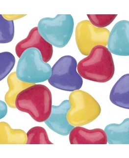 Pastel Hearts Candy