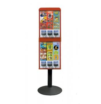 6 Column Stack Sticker Machine