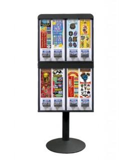 8 Column Stack Sticker Machine
