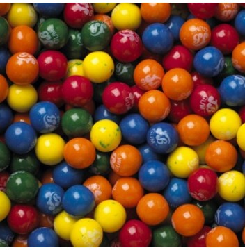 Nerds Candy Filled Gumballs - 850 count