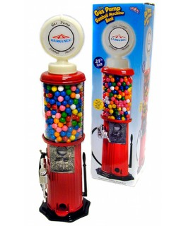 "21"" Carousel Gas Pump Gumball Machine"