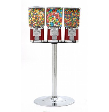 Triple Pro Gumball Machine with Stand