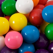 Multicolored Gumballs