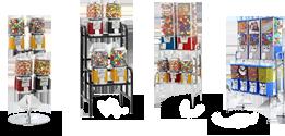 Gumball Vending Racks