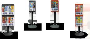 Sticker Vending Machines